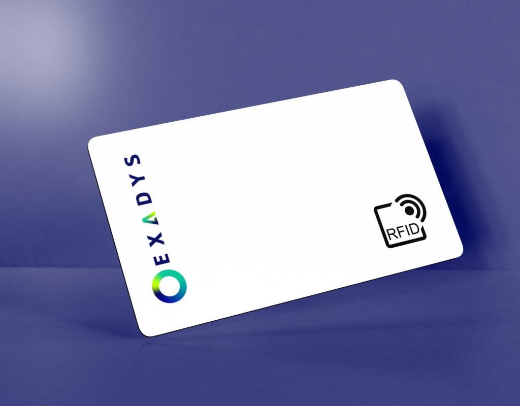 badge d'accès RFID aux bornes de recharges électriques